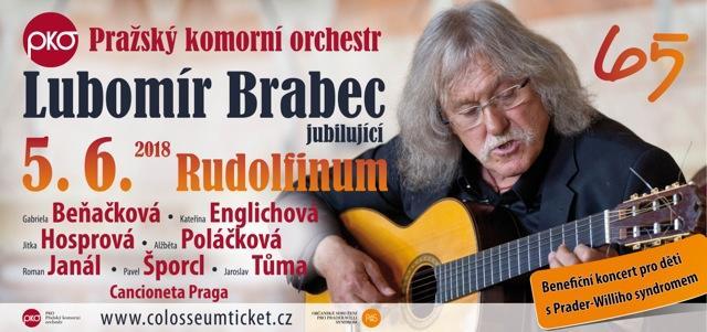 Koncert pro Lubomíra Brabce