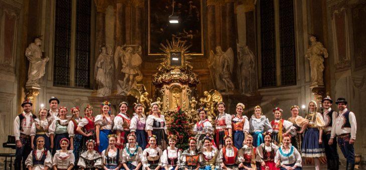 Vánoční koledování s Cancioneta Praga